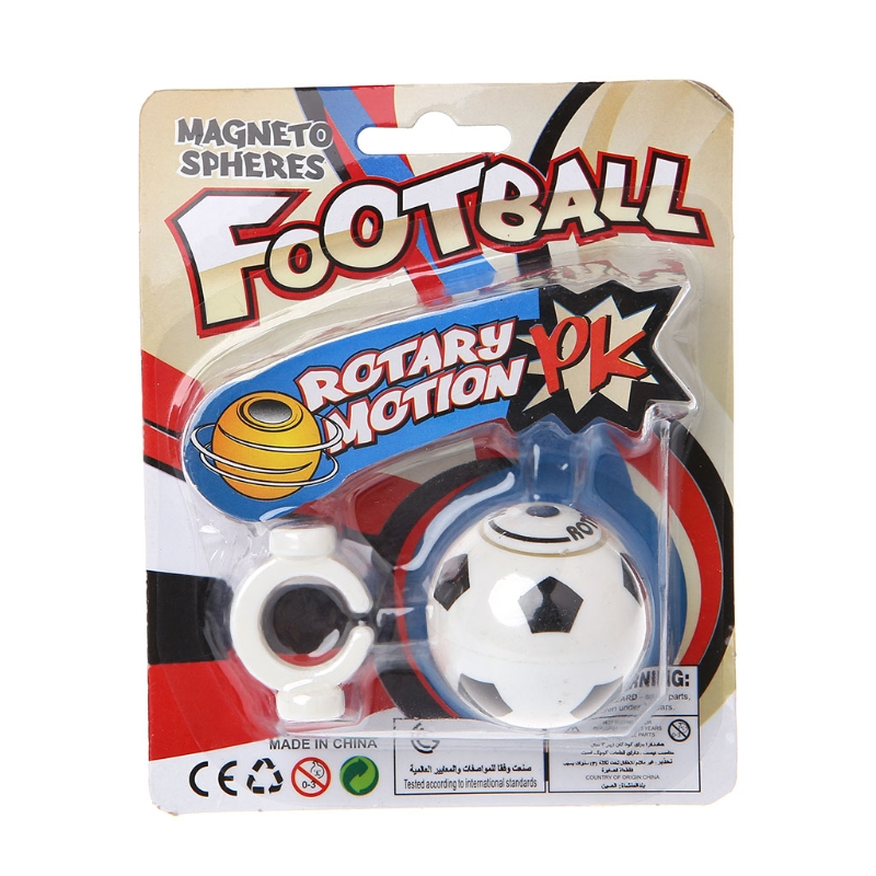 Unique Mini Magnetic Finger Soccer Decompression Toys Football Rotate Gyro Toy Gifts MAY23-A
