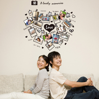 High Quality Loving Heart Photograph Wall Stickers Bedroom Living Room For Home Decor