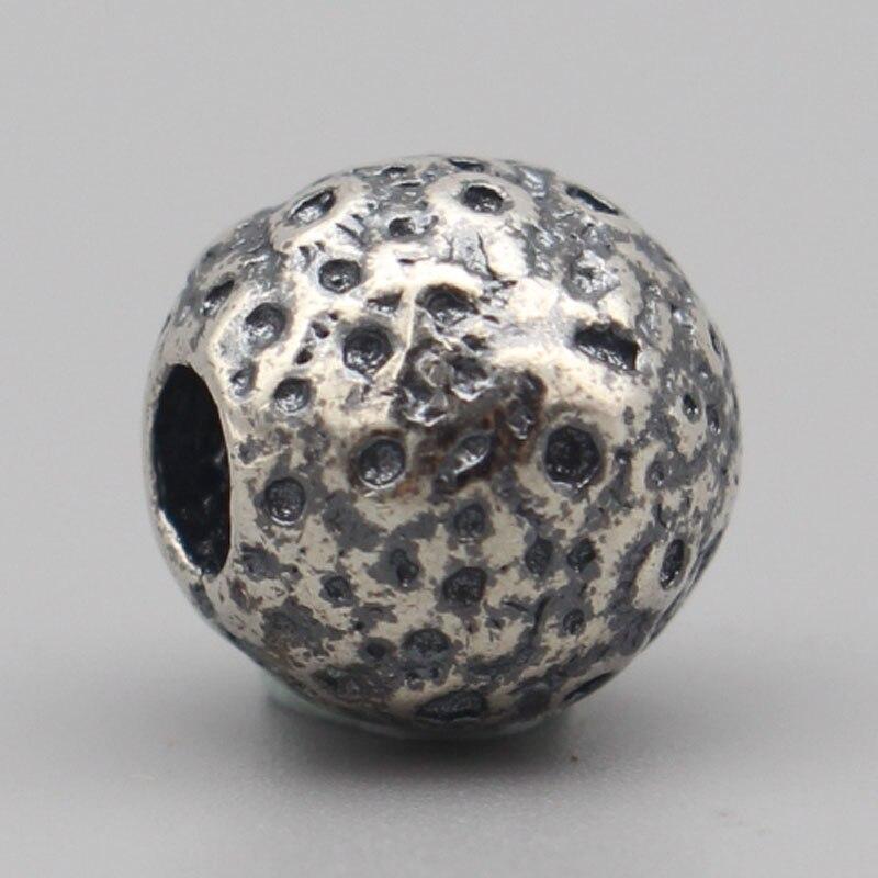 Vintage Beads Jewelry Making 925 Sterling Silver Moon Silver Beads Charms Fit European Troll Bracelet DIY Jewelry Charm Bracelet цена