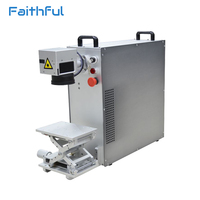 20W Portable Mini Fiber Laser Marking Machine Price Competitive For Metal Engraving From Manufacturers
