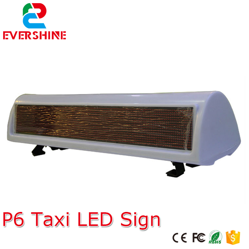 P6 waterproof Double sides high brightness TAXI roof red color led lighting for mobile outdoor led advertising sign display 12v taxi cab sign roof top topper car magnetic lamp led light waterproof 11 taxi roof lamp bright top board roof sign