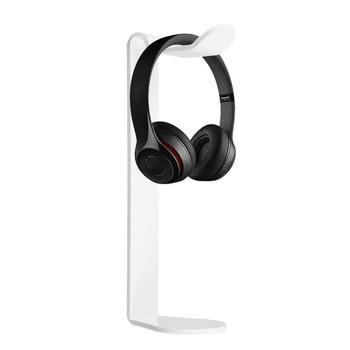 Universal Acrylic Earphone Headset Hanger Holder Headphone Desk Display Stand Fashion Display For Headphones Bracket 2 Colors