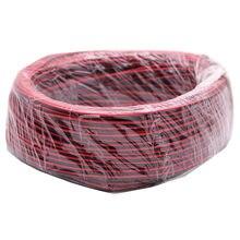 Câble d'extension rouge et noir à 2 broches pour bande lumineuse 100 5050, 50m 3528 m 22awg