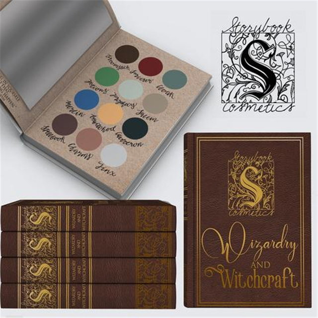 Pre-sale Wizardry and Witchcraft 12 Colors Harry Potter Storybook Matte Eye Shadow Makeup Palette Eyeshadow Make Up Cosmetics