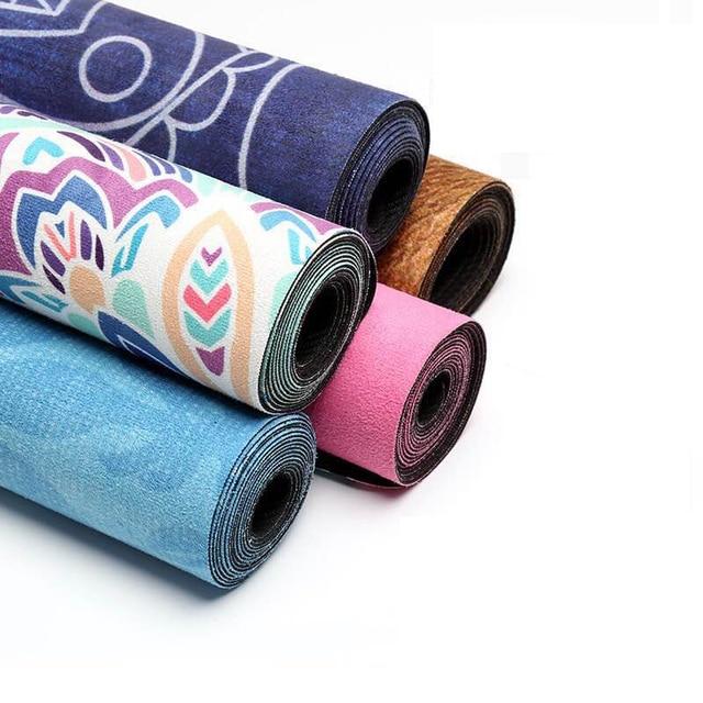 Mandala Cilected Slip Resistente Tapete De Yoga De