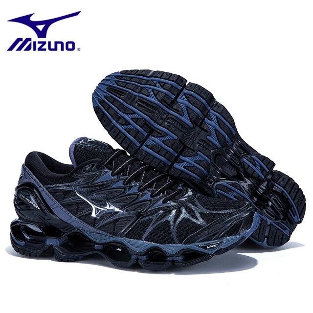 Оригинальный Mizuno Wave Prophecy 7 Professional Мужская обувь дышащие кроссовки для Для мужчин Вес подъема обувь кроссовки размер 40-45