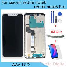 Оригинальный дисплей для xiaomi redmi note 6 pro сменный ЖК