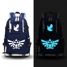 Excellent quality 2017 New The Legend of Zelda Printing School Zelda Backpacks for Teenage Girls Mochila Feminina Canvas Laptop Bags