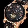 Alta qualidade Tourbillon homens relógios Top marca de luxo à prova d ' água relógios homens mecânico automático de pulso relógios relógio masculino