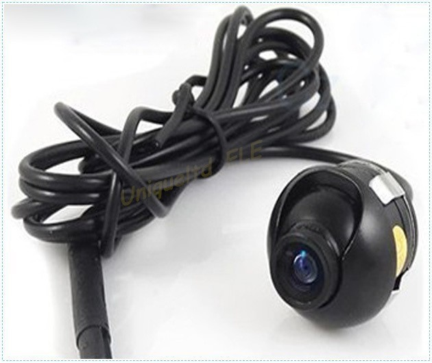 360 Degree Eyeball HD CCD Reverse Backup Rear View Car Camera Waterproof Camera