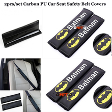 Fashion Car accessories New Product 2pcs/set For Batman logo
