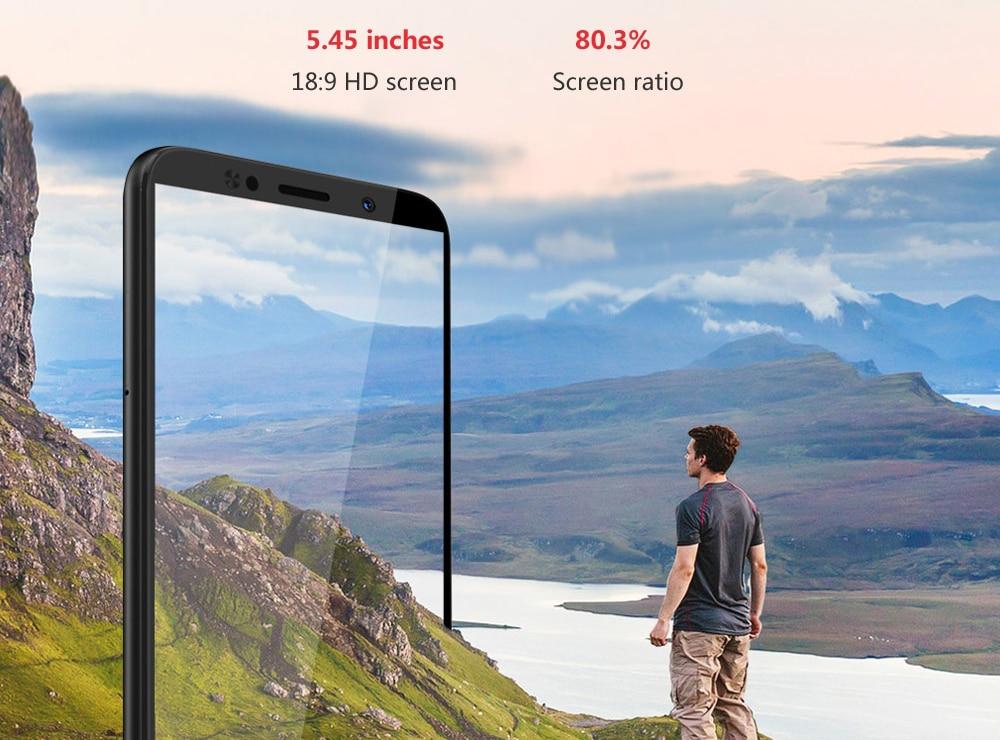 Global Version Lenovo A5 3GB RAM 16GB ROM MTK6739 Quad Core Smartphone 5.45' Fingerprint 4G LTE Phones 4000mAh Battery Face Unlock (3)