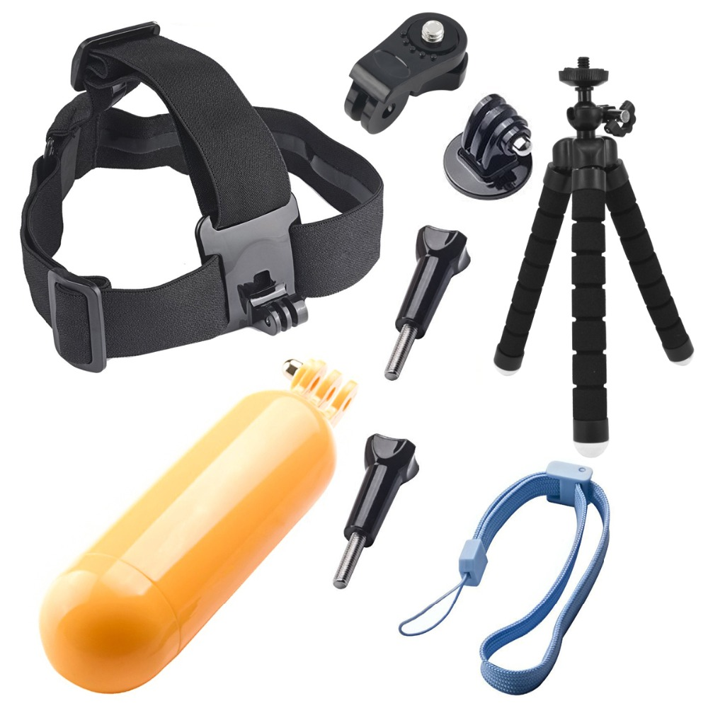Accessories Octopus Tripod Head Strap Floaty Bobber Monopod for Sony Mini Cam Action Camera HDR AS20 AS30V AS15V AS200V AS300 image