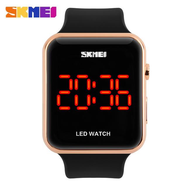 2016 skmei relógio do esporte dos homens digital led relógios estudante de moda casual ao ar livre à prova d' água relógios de pulso montre homme erkek saat