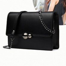 Shoulder  women 2019 summer new womens fashion Joker leather slung shoulder womenbag