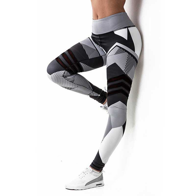 Women Pro Bodybuilding Run Tight Sport Compress Gym Pant Yoga Exercise Fitness Quick Dry Legging Workout Train Clothing E77
