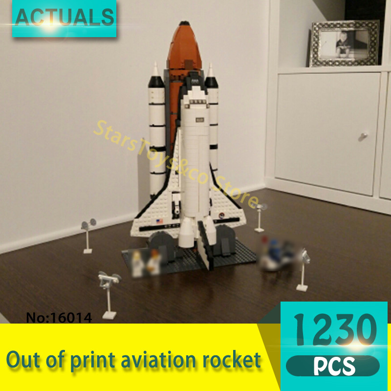 Lepin 16014 1230Pcs Movie Series Out of print aviation rocket Model Building Blocks Set  Bricks Toys For Children Gift lepin 16014 1230pcs space shuttle expedition model building kits set blocks bricks compatible with lego gift kid children toy
