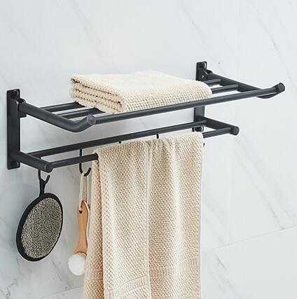 New Arrival Towel Racks Luxury Bathroom Accessories High Quality ORB Finish Bath Towel Shelves Towel Bar Bath Hardware meifuju new arrival towel racks luxury bathroom accessories high quality golden finish bath towel shelf towel bar bath hardware