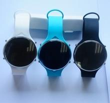 2016 mode Bluetooth Smart Uhr OLED Runden Bildschirm Leben Wasserdicht Sport smartWatch Für apple huawei Android IOS Telefone