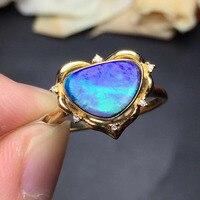 Belle Gioielli 15.5*9mm anello reale 18 K Gold Top del grado naturale opal anello per le donne gioielli belle anelli