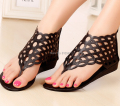 New 2017 Summer Women's Sandals Beach Rome Style Fashion Wedges For Female Party Shoes Cut Outs Sweet Euro size35-40