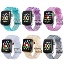 Silicone Straps For Apple Watch Bands 42mm 44mm 38mm 40mm For Apple Watch 4 3 2 1 Band Gold For iWatch Band 42mm Strap silicone double buckle sports watch straps for apple watch band 44mm 42mm 40mm38mm series 5 4 3 2 1 wrist bands for iwatch strap