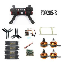 F09205-E Unassembled Kit QAV250 Mini 250 Carbon Fiber 4-Axis Aircraft Frame with Motor ESC QQ Flight Control Board