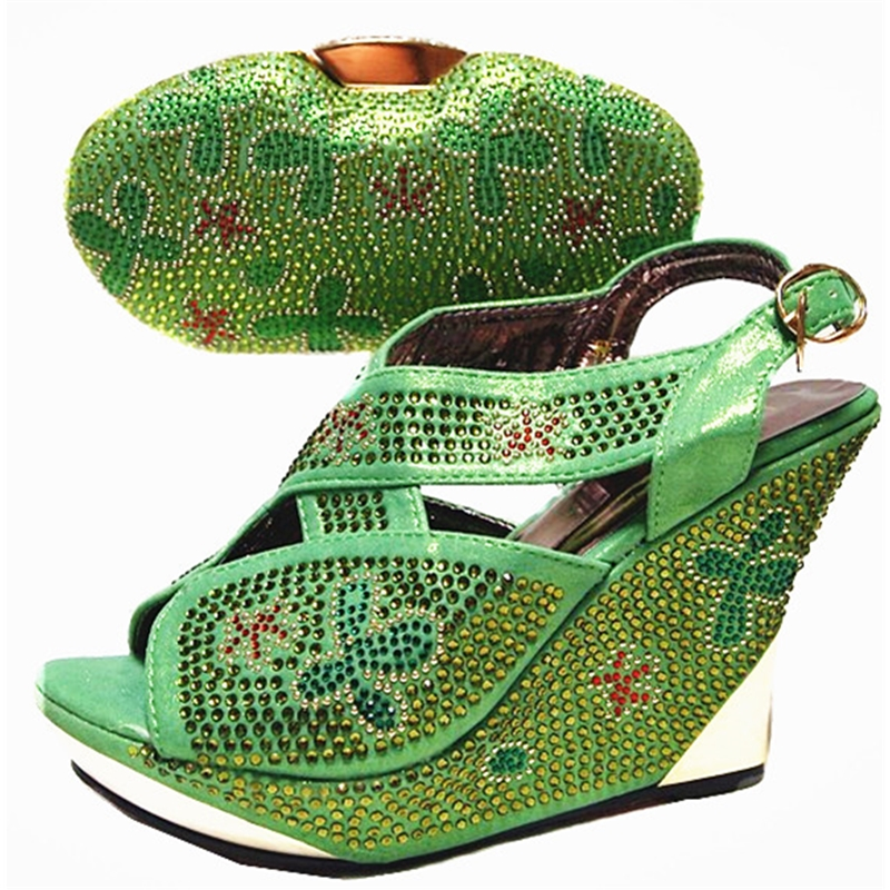 Image 5 - Sliver Color Italian Shoes and Bags To Match Shoes with Bag Set  Sales In Women Matching Shoes and Bag Set High Quality Shoes Bagshoe  and bagitalian shoes and bagsshoes with bags
