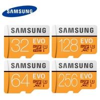 SAMSUNG EVO Micro SD Card 64G 128G 256G U3 4K UHD Class10 UHS I 100MB S