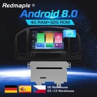 4G Ram Car dvd Stereo Radio GPS Navigation Multimedia Player For Opel Vauxhall Insignia CD300 CD400 2009 2010 2011 2012 Auto