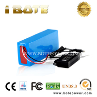 48V battery e bike battery 48V 15ah li ion 18650 electric bicycle battery with charger for bbs02 48V 750W motor