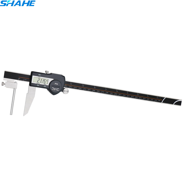 Digital stainless steel caliper electronic tube thickness caliper vernier caliper 300 mm tools digital digital diai gem caliper measures from 0 12 7 mm 0 5 by 0 01 mm 0 0005 goldsmith tool caliper jewelry measurement tools