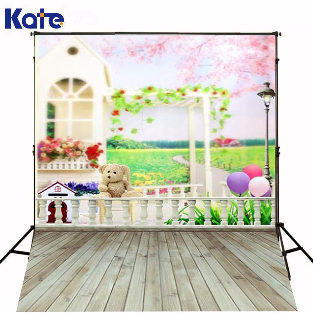 200CM*150CM backgrounds Wooden bridges and people pergolas wooden dog house streetlights bal photography backdrops photo LK 1023 200cm 150cm backgrounds large family backyard garden flowers form dense growth arches childr photography backdrops photo lk 1062