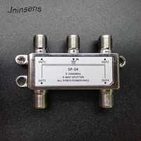 5-2400MHz 4-way splitter 4-channel satellite signal power splitter Satellite TV Receiver For SATV CATV design Switcher