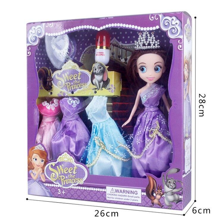 어린이 장난감, 큰 인형 소피아 소녀 장난감 연주, DIY 퍼즐 장난감, 아기 인형, 소녀 생일 선물, 여자의 선물