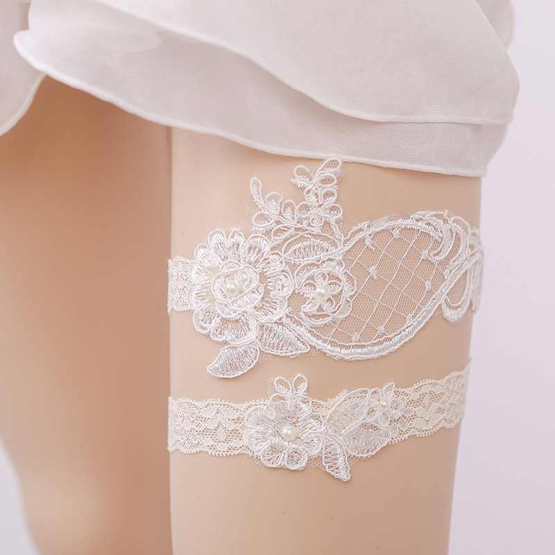 Wedding Leg Garter: New Fashion Women Wedding Fashion Garter For Bride Hand