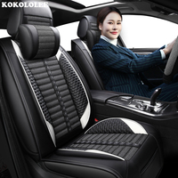 KOKOLOLEE Car seat covers for chevrolet trailblazer interior accessories seat covers sandwich Automobiles Seat Covers