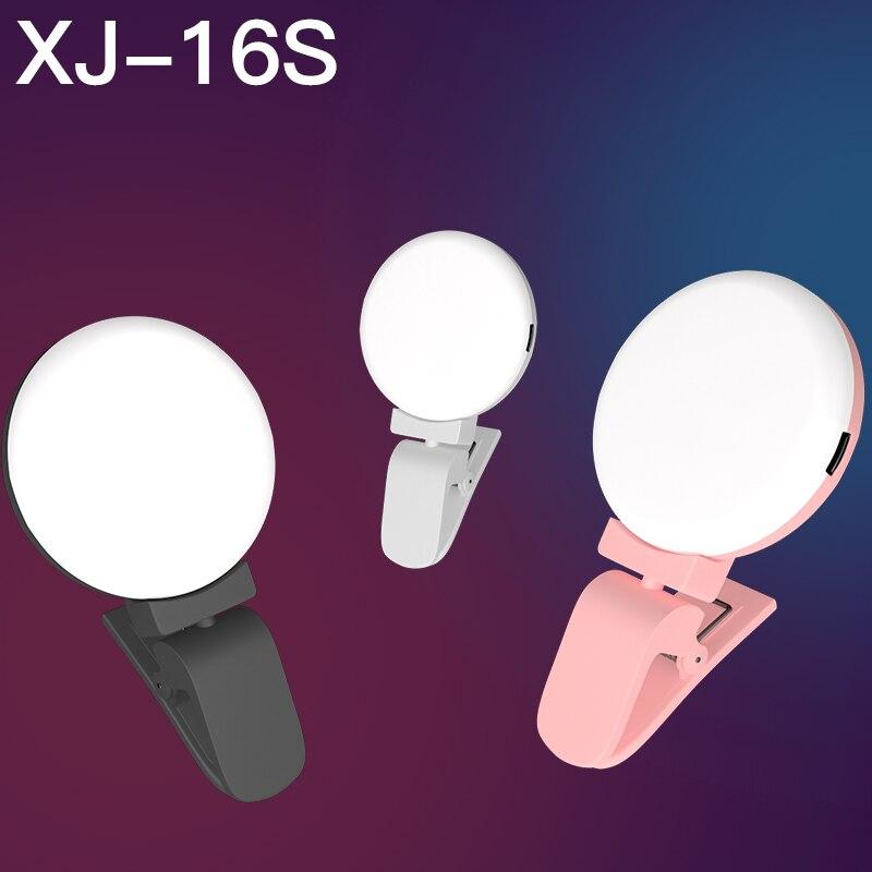 Portable Selfie Anneau Lumière L'amélioration Photographie pour Smartphone Flash Led Caméra Téléphone Photographie pour iPhone Samsung