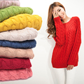 Free shipping size basic autumn and winter sweater thickening long-sleeve pullover sweater women fashion WL0006