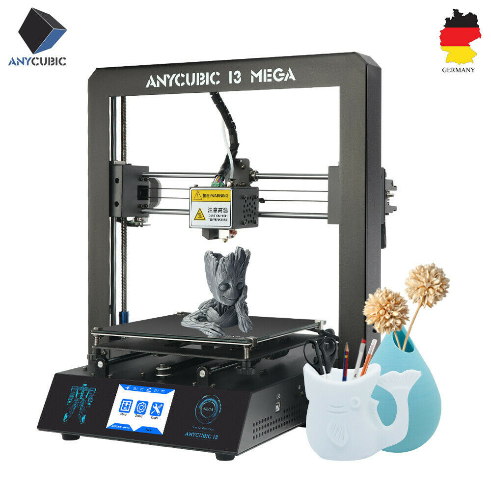 2019 Anycubic i3 Mega 3D Printer print Kits Parts Plus Size Full Metal Touch Screen