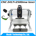 cnc 2417+2500mw,diy cnc engraving machine,mini PcbPvc Milling Machine,Metal Wood Carving machine,cnc router,cnc2417,grbl control