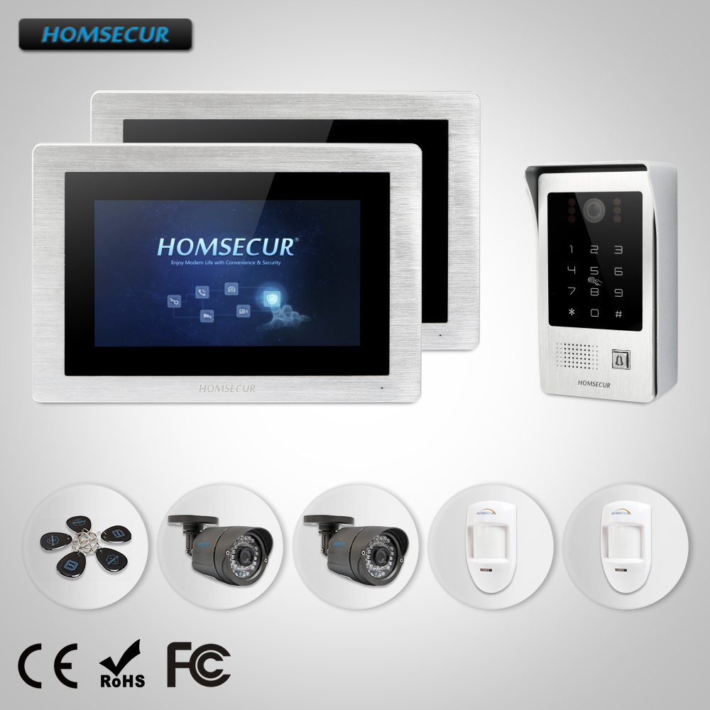 bm714-s Dependable Homsecur 7 Wired Video Door Phone Intercom System With Recording & Snapshot Bc091 Back To Search Resultshome