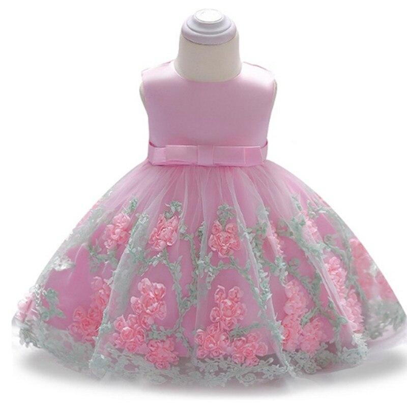 Tienda Online Las muchachas de flor vestido niñas bautizo torta ...