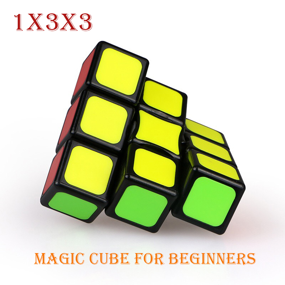 1×3×3 Magic Cube Education Toys for Children Kids Puzzle Antistress Toys for Adult Intelligent Cube for Beginners Brain Teaser(China)
