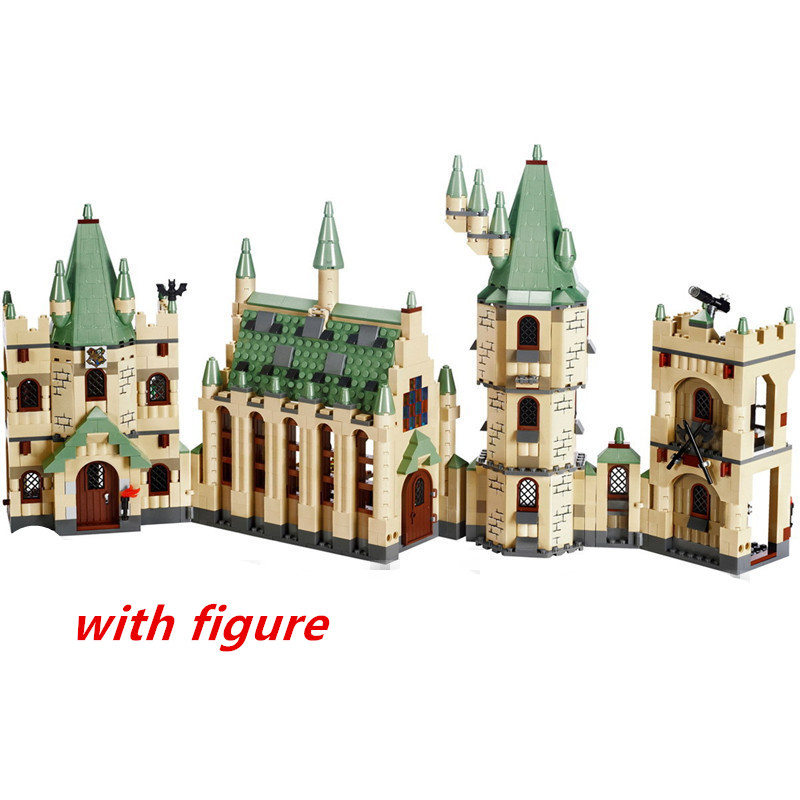 Lepin 16030 lepin harry Hogwarts Castle potter Building Block Compatible legoing harry Hogwarts Castle potter legoing 4842 william irwin the ultimate harry potter and philosophy hogwarts for muggles