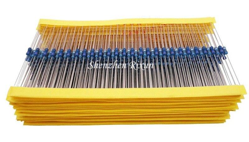 Best Price 100pcs resistor pack 20K ohm 1/4W 20K Metal Film Resistor 20Kohm 0.25W 1% For Arduino Free Shipping DropShipping