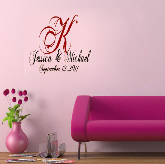Aliexpresscom Buy Custom Wedding Party Decoration Dance Floor - Custom vinyl wall decals dance