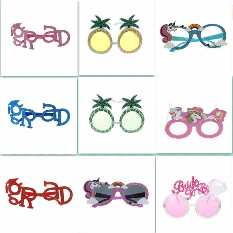 876200ecb48 Party Beach Novelty Unicorn Party Decorations Wedding Decor Pineapple  Sunglasses Hawaiian Funny Glasses Event Supplies