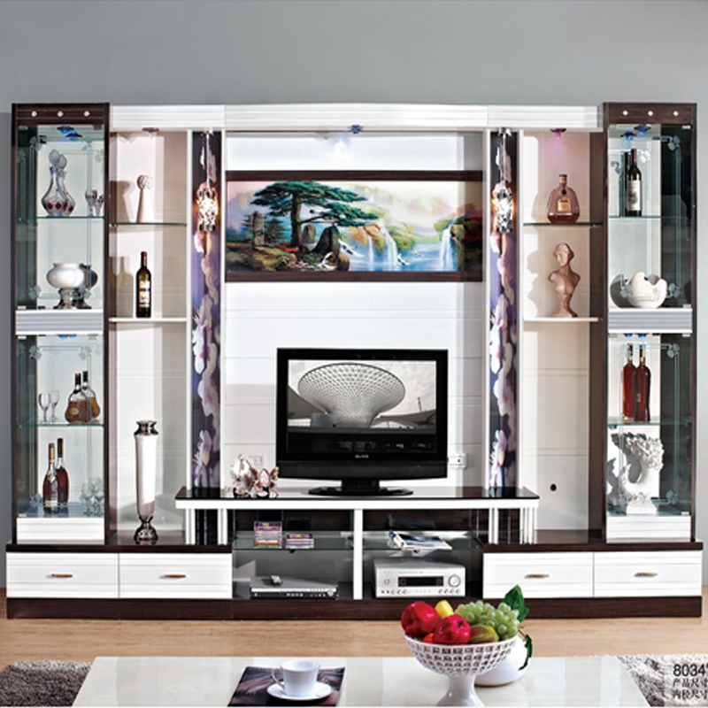 Wine cooler modern brief fashion glass cabinet office display ...