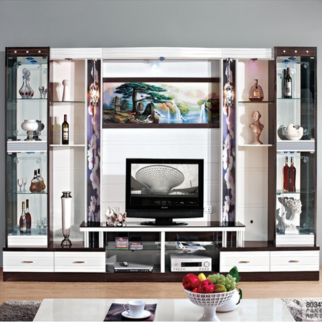 Wine Cooler Modern Brief Fashion Gl Cabinet Office Display Tv Wall Unit